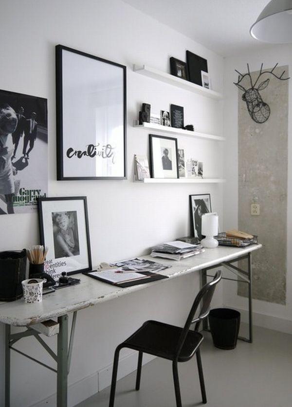 Meja kerja minimalis