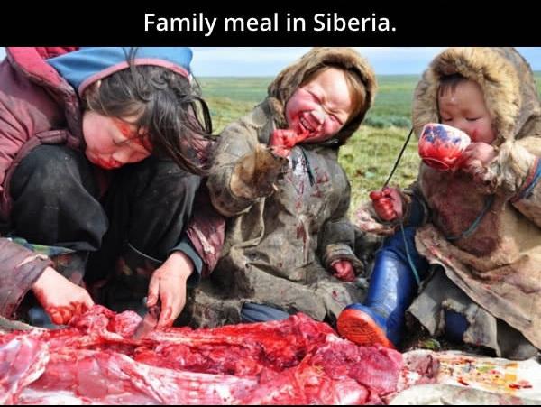 Foto mengerikan dari dunia