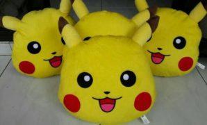 Jual Bantal Pikachu (Pemesanan di bawah)
