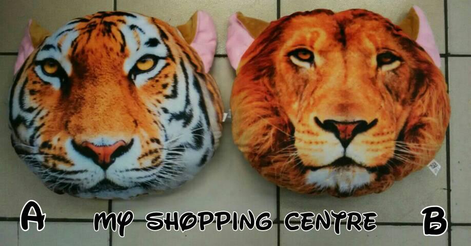 Jual Bantal Harimau (pemesanan di bawah)