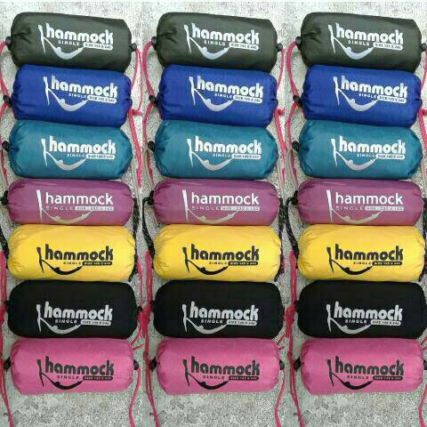 Jual hammock single parasut