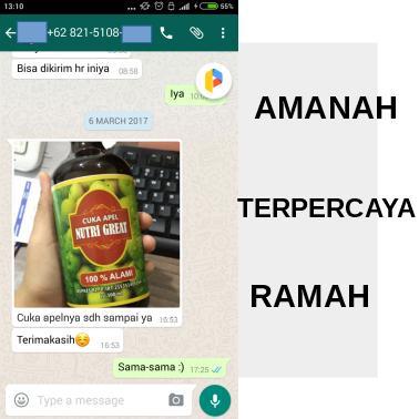 Penjual Cuka Apel Terpercaya